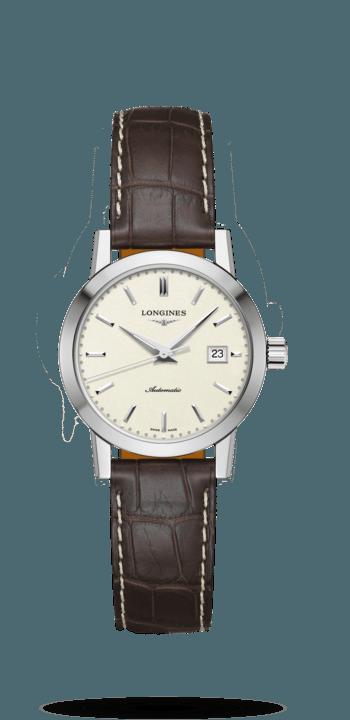 浪琴表经典复刻系列1832腕表 Ø 30.00 mm  自